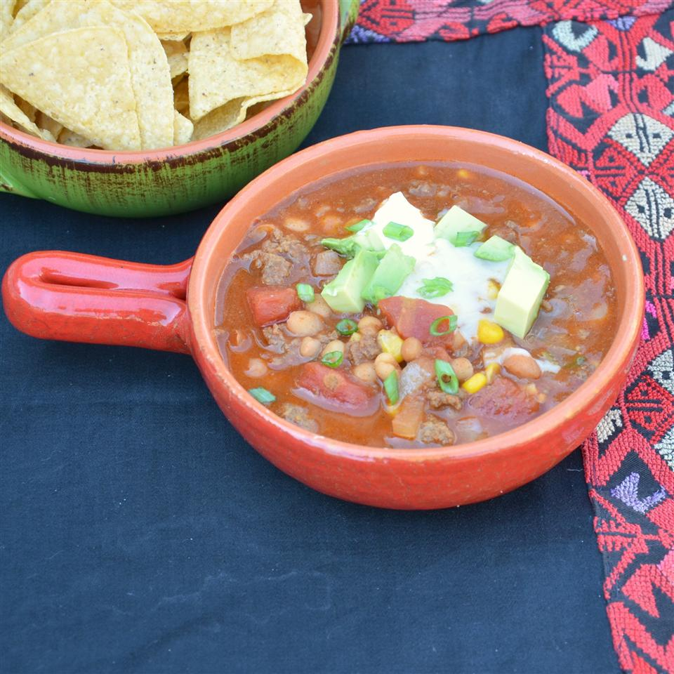 Busy Day Slow Cooker Taco Soup