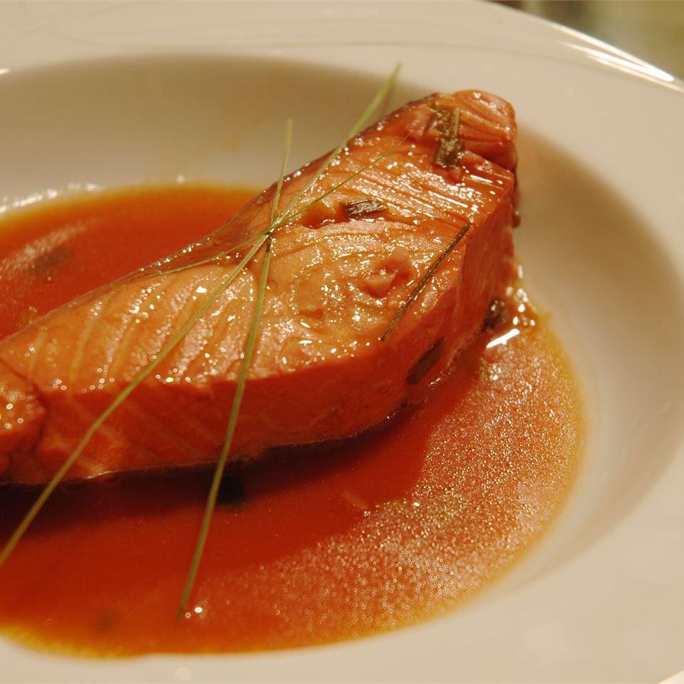 Lemongrass and Citrus Poached Salmon image
