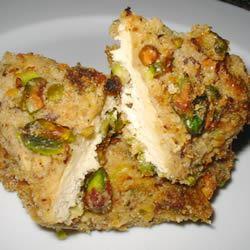 Pistachio Crusted Chicken Julie