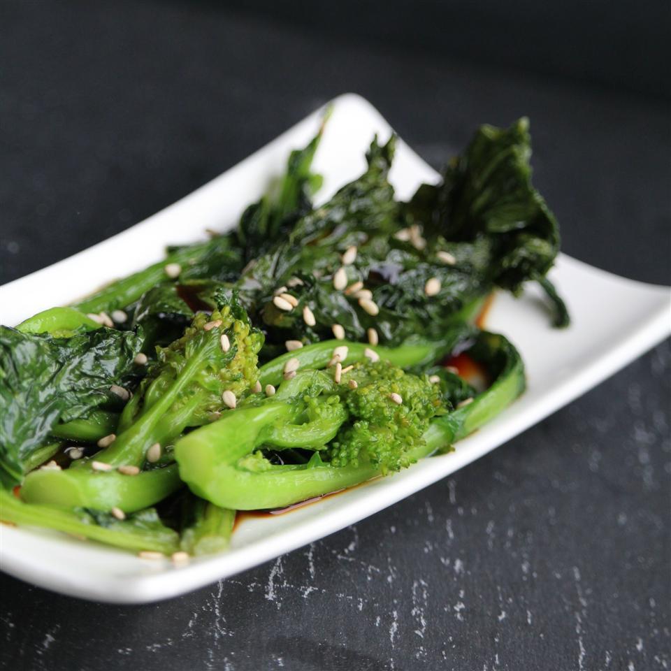 Sauteed Broccoli Rabe with Ponzu Sauce