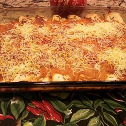 Chicken Enchiladas V