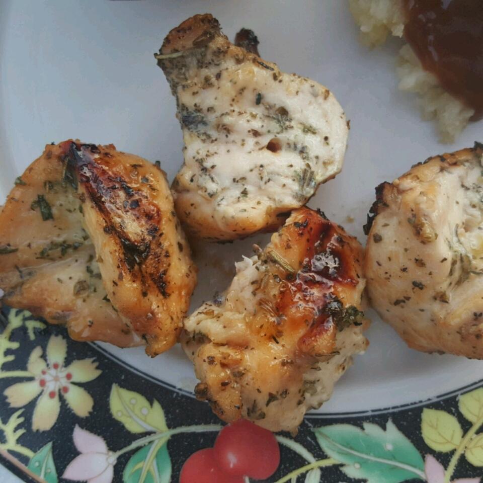 Grilled Tamarind and Orange Glazed Chicken Ocdm