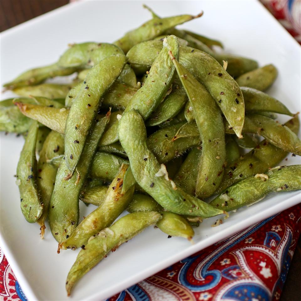 Simple Roasted Edamame