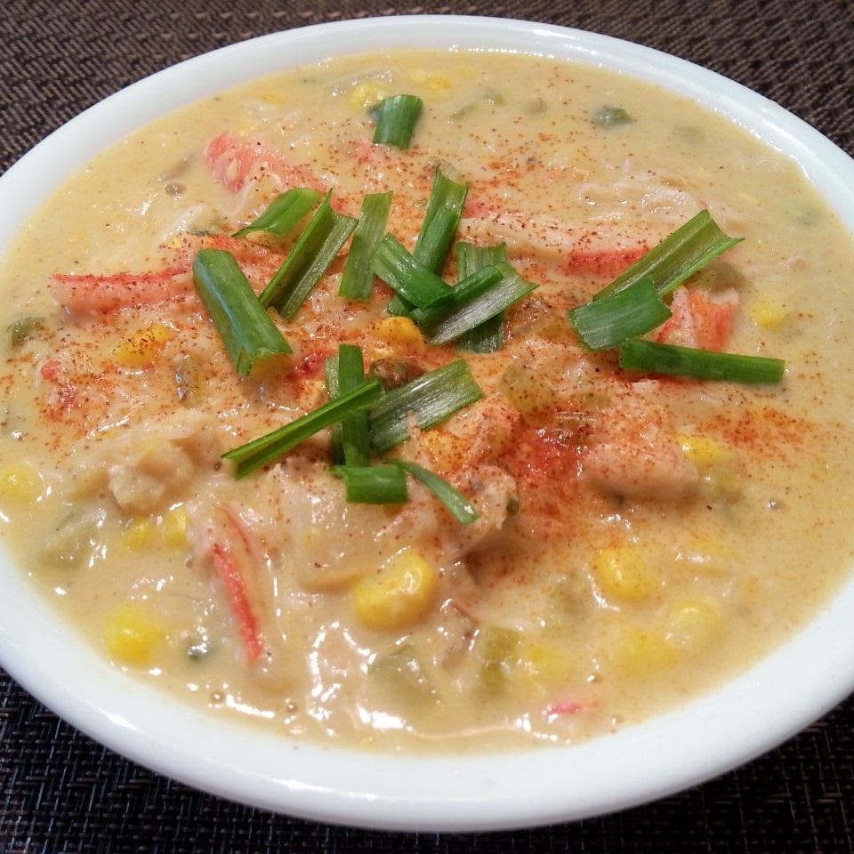 Creole Crab and Corn Chowder Eat