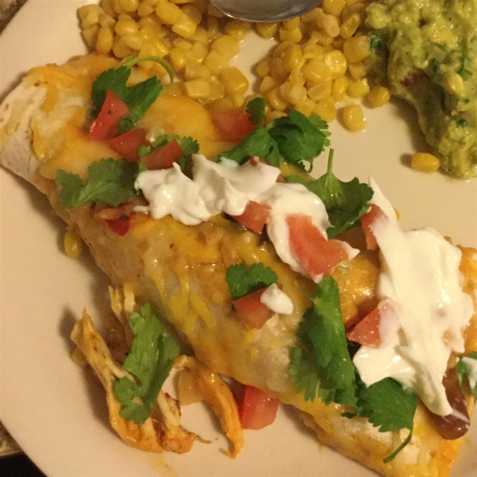 Easy Chicken Enchiladas from Campbell's Kitchen Campbell's Kitchen