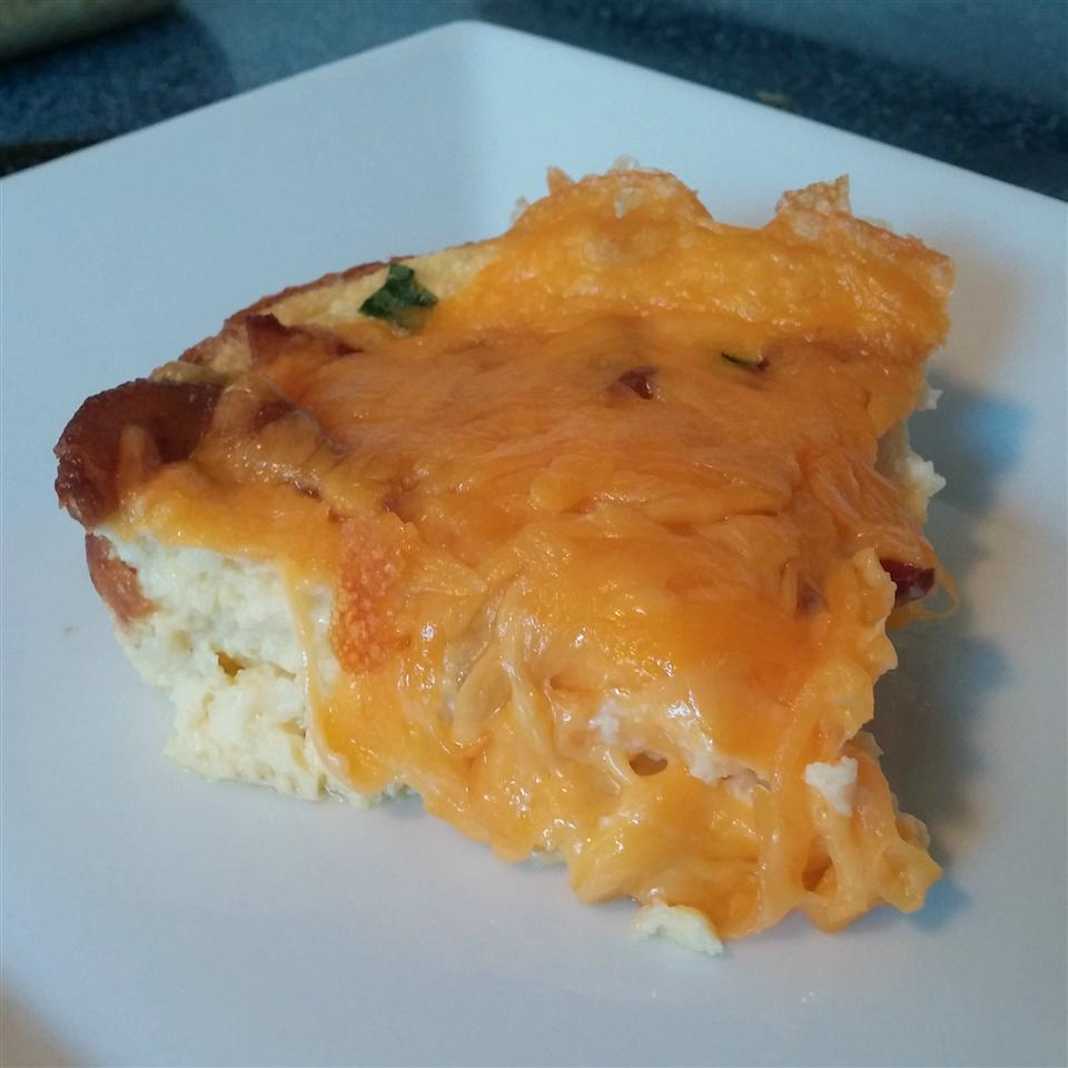 Cheesy Bacon Breakfast Casserole