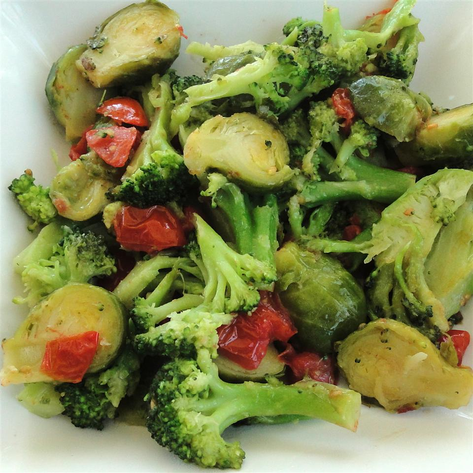 Broccoli and Brussels Sprout Delight Howard