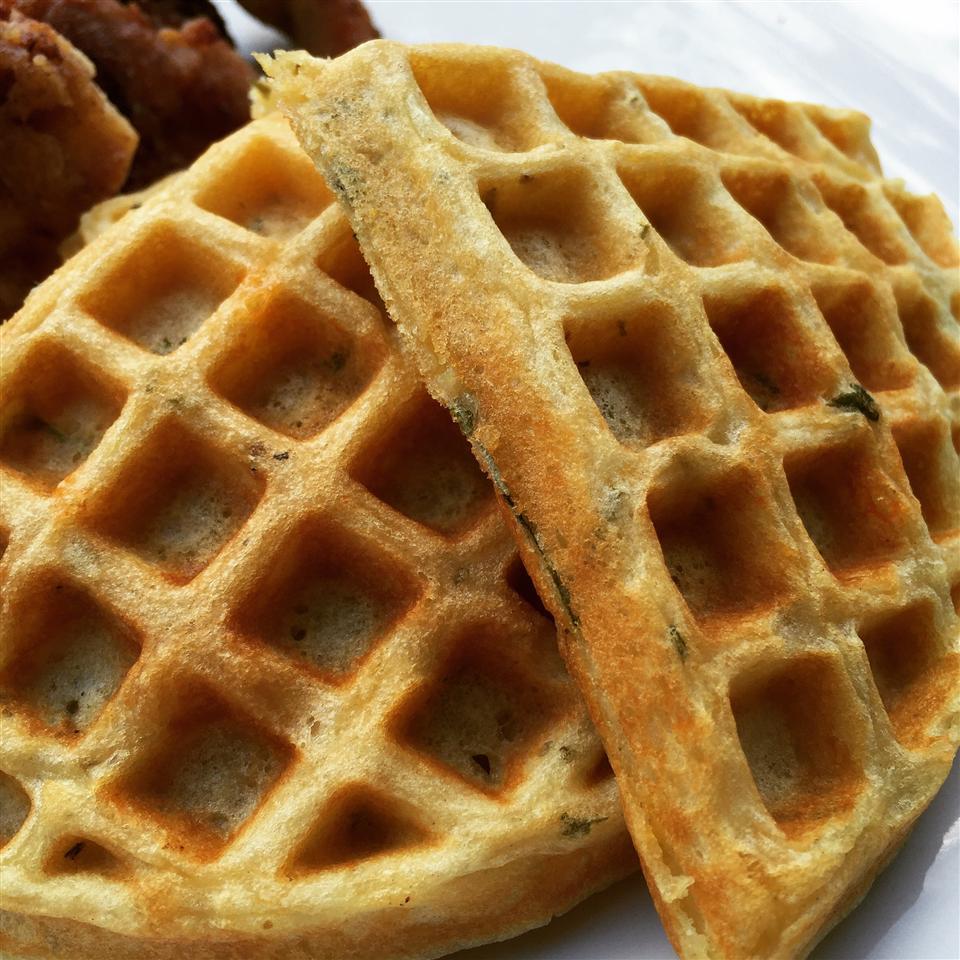 Savory Herb Waffles_image