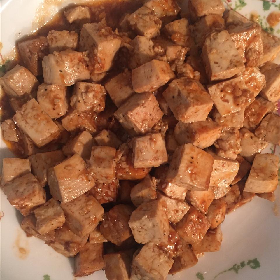 Baked Tofu Bites Irochka