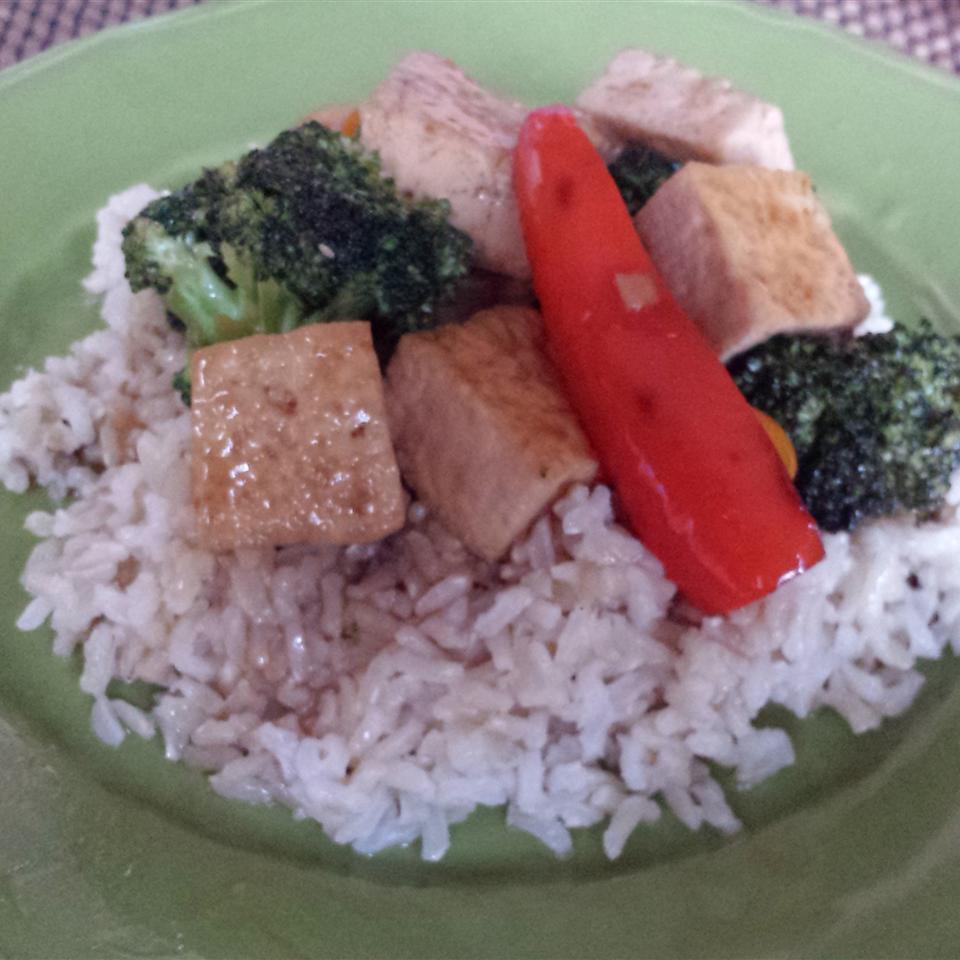 Broccoli and Tofu Stir Fry Casablancaise
