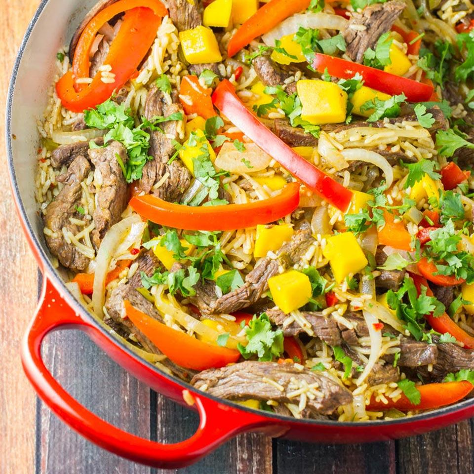 Knorr(R) Mango Lime Fajita Skillet