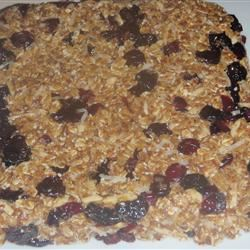 Fruity Granola Bars Annee