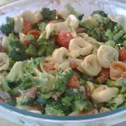 Tortellini Bacon Broccoli Salad Mary