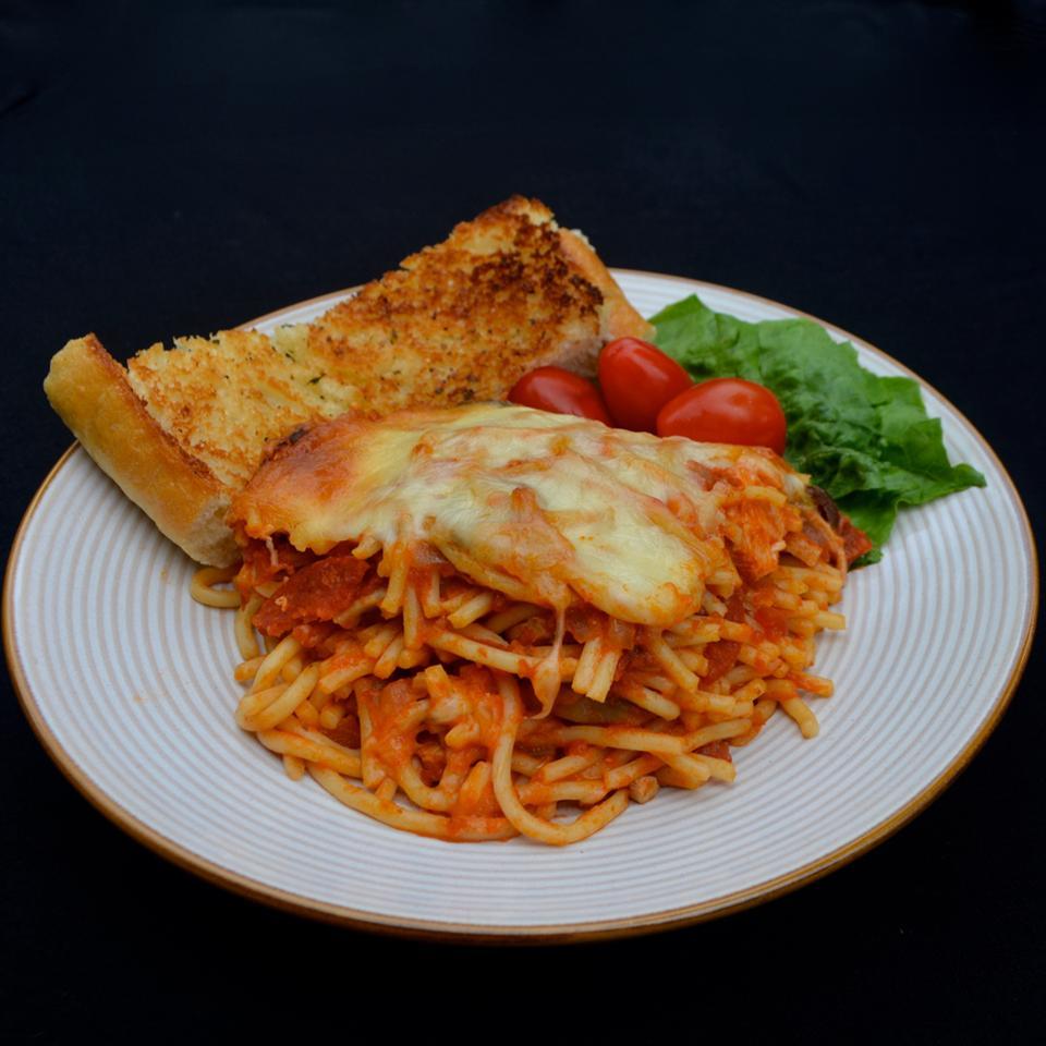 Timballo Spaghetti Casserole Bibi