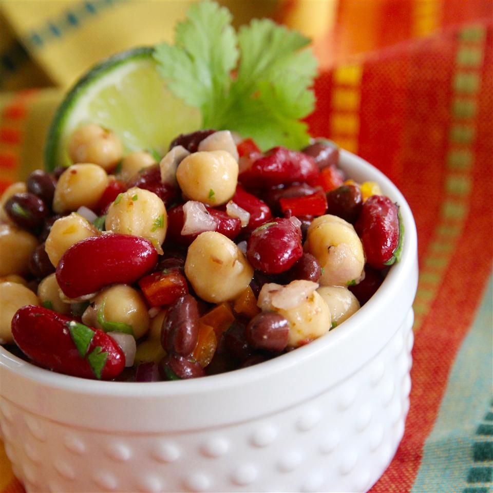 Three Bean Salad Recipe With Italian Dressing