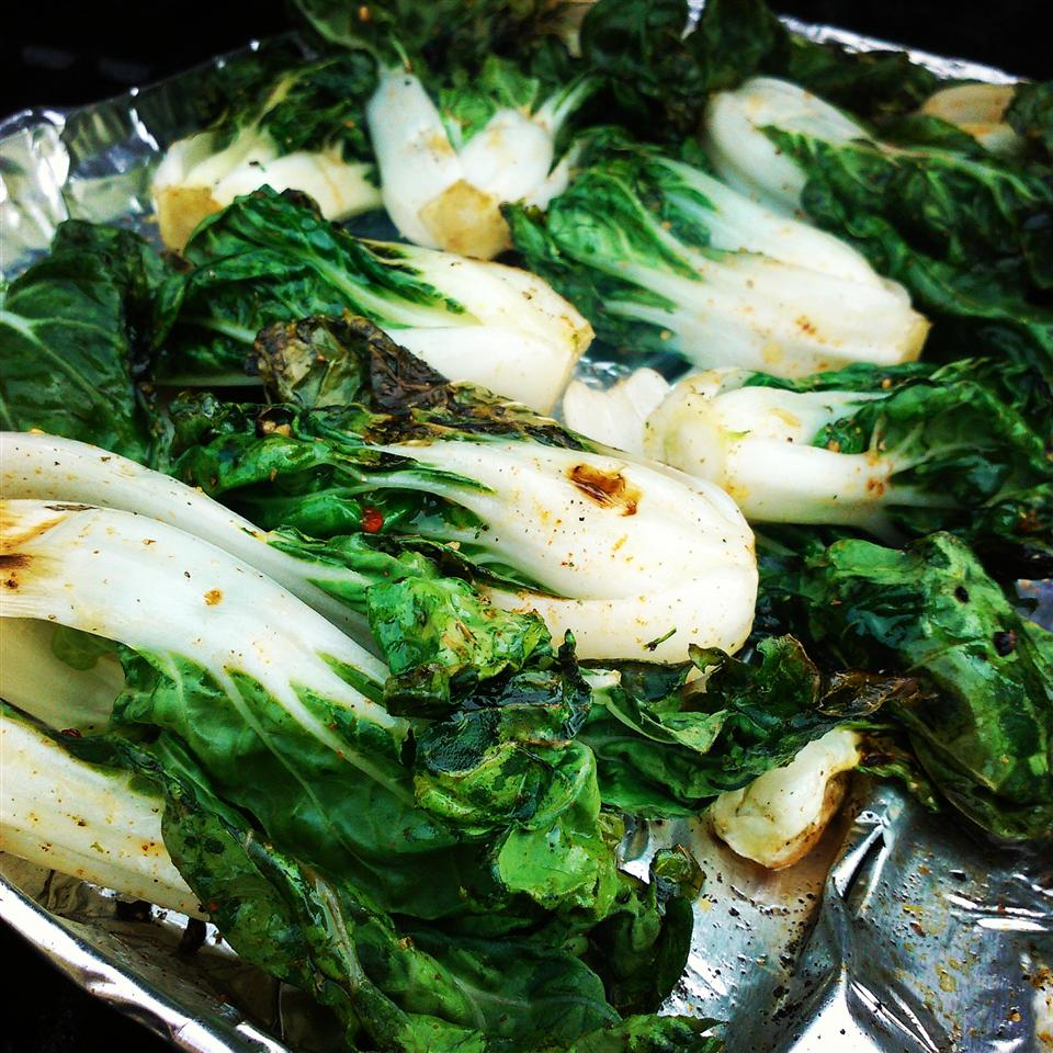 Grilled Bok Choy Chef V