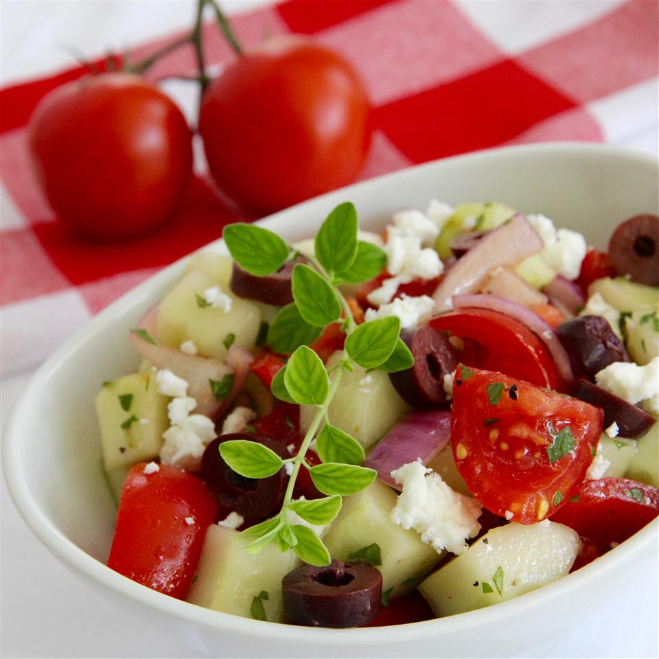 Good for You Greek Salad