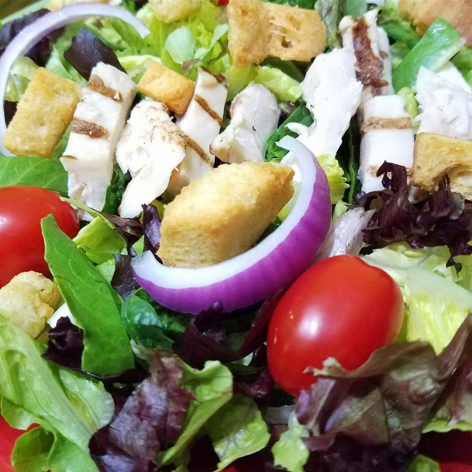 Balsamic Chicken Salad RainbowJewels