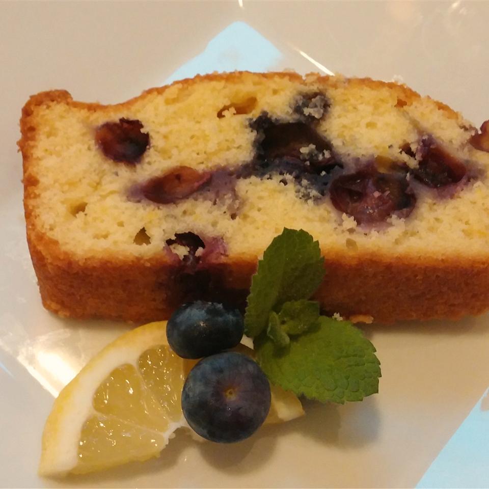 Blueberry Lemon Quick Bread Chef Mo