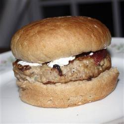 Thanksgiving Flavored Turkey Burgers ChristineM