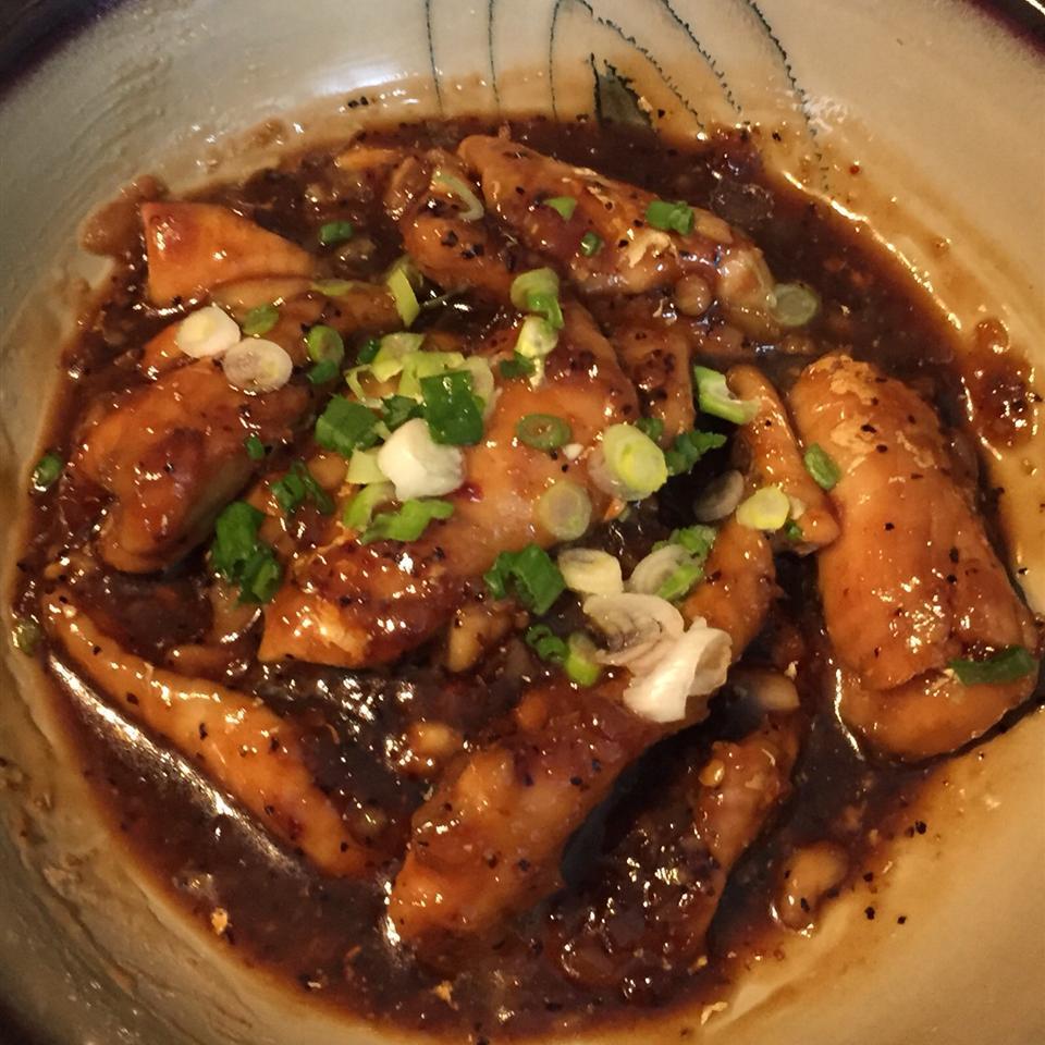 Caramel Coated Catfish