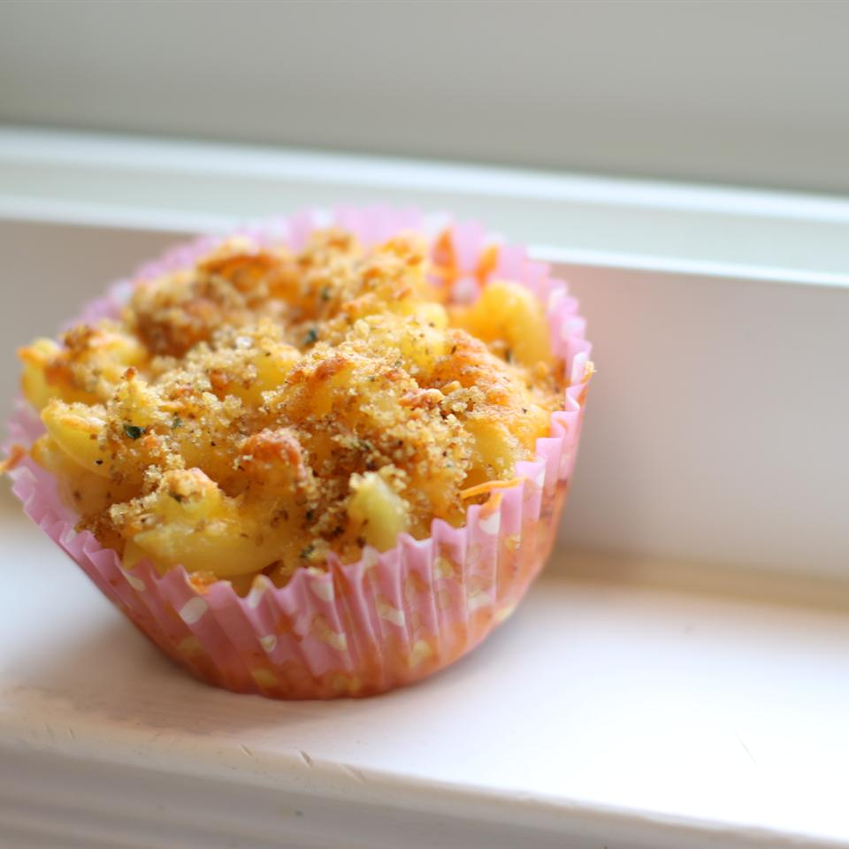 Easy Mac and Cheese Muffins - Printer Friendly