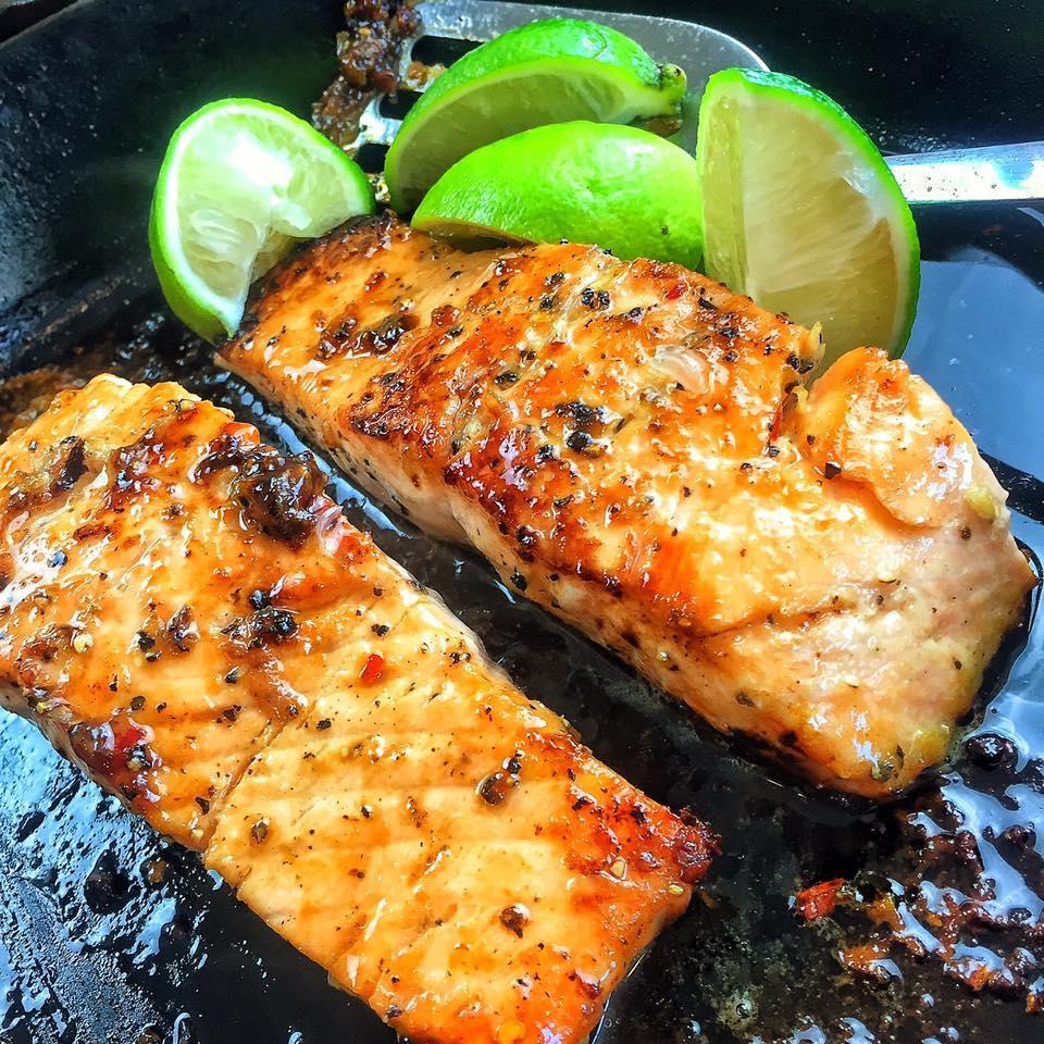 Cedar Plank-Grilled Salmon