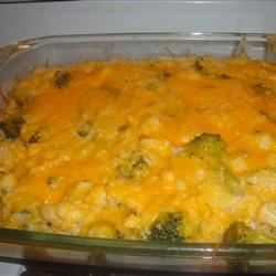 Broccoli and Cauliflower Casserole