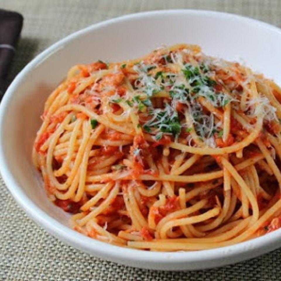 Chef John's Spaghetti al Tonno