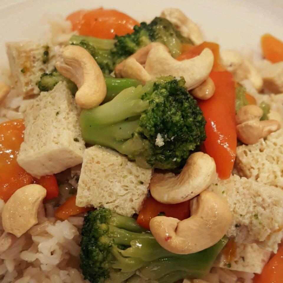 Broccoli and Tofu Stir Fry Marie  Berdini