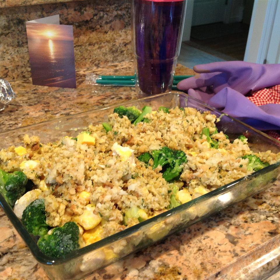 Cheesy Chicken & Broccoli Bake wallace133