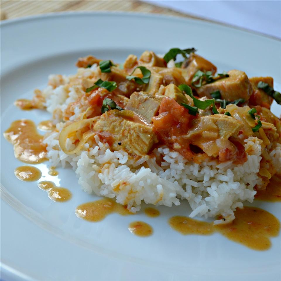 Curried Coconut Chicken Kim's Cooking Now