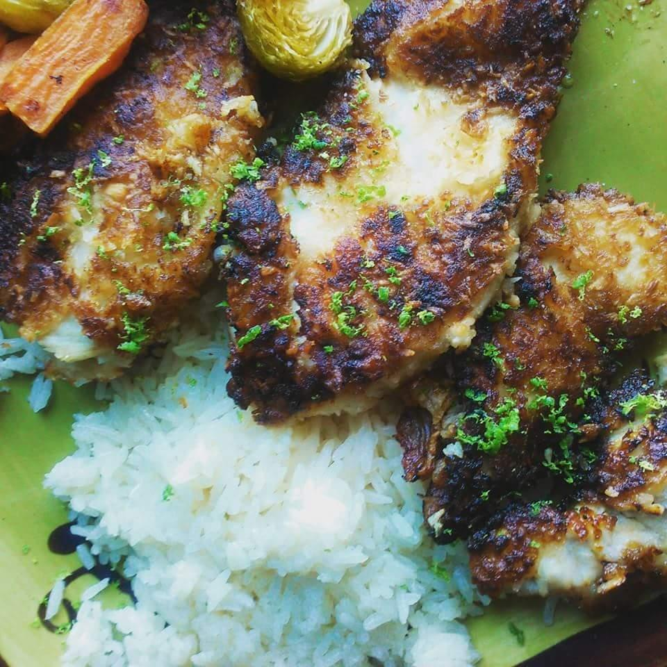 Coconut Lime Chicken Pieces