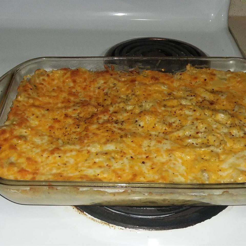 Chicken Spaghetti Bake MichaelAmanda Barrett