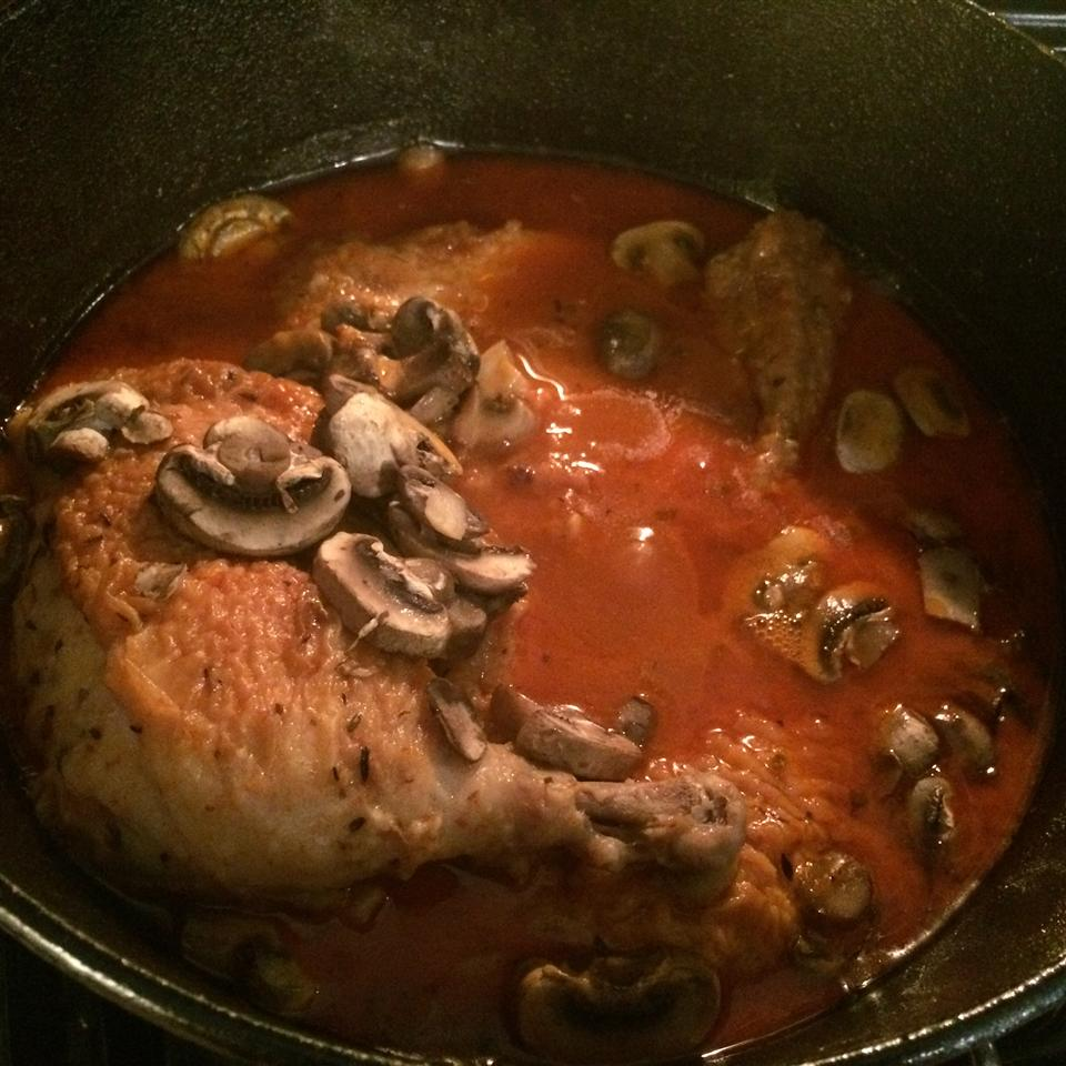 My Mom's Chicken Cacciatore