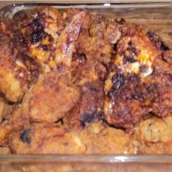 Garlic Chicken Fried Chicken inounvme