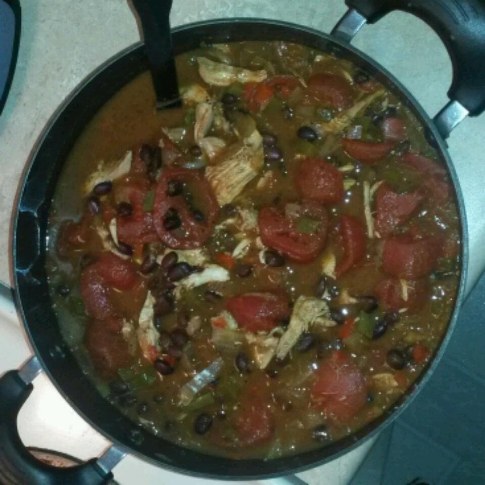 Mary's Chicken and Black Bean Chili