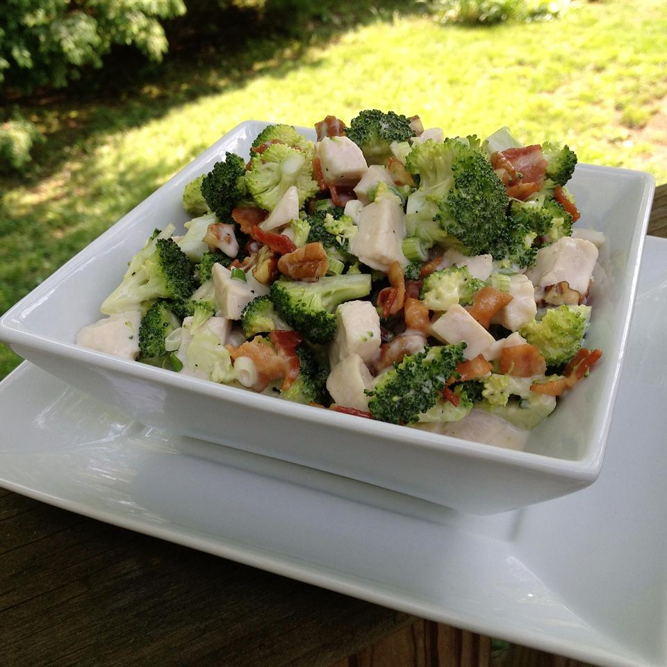 Chicken Broccoli Salad Recipe Allrecipes