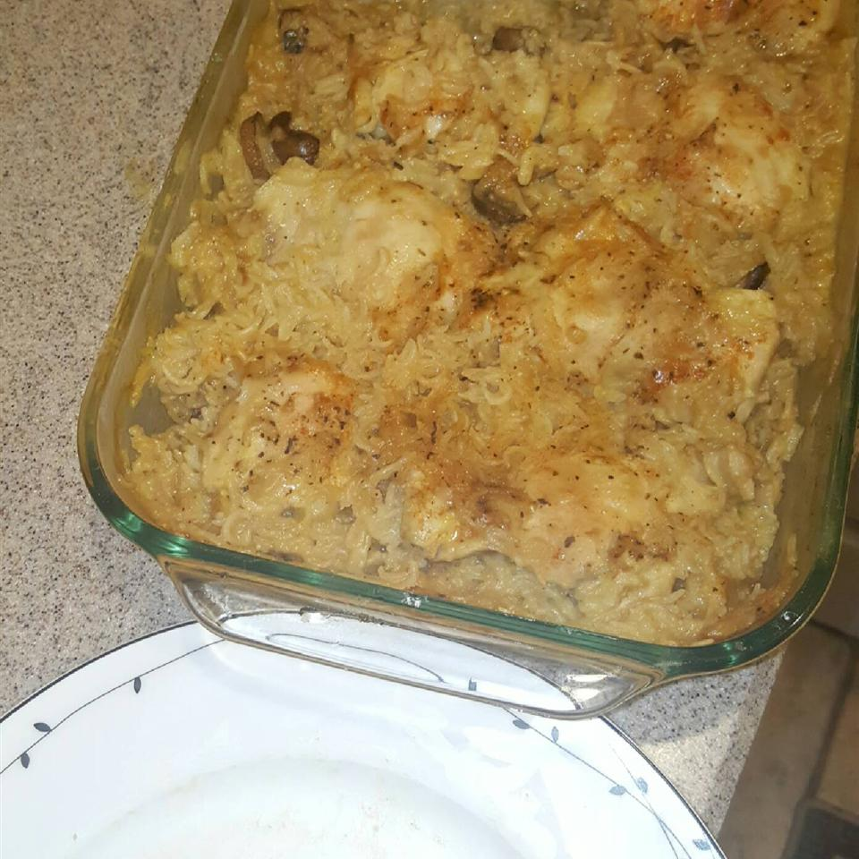 Busy Day Chicken Rice Casserole Sharanjeet Paul