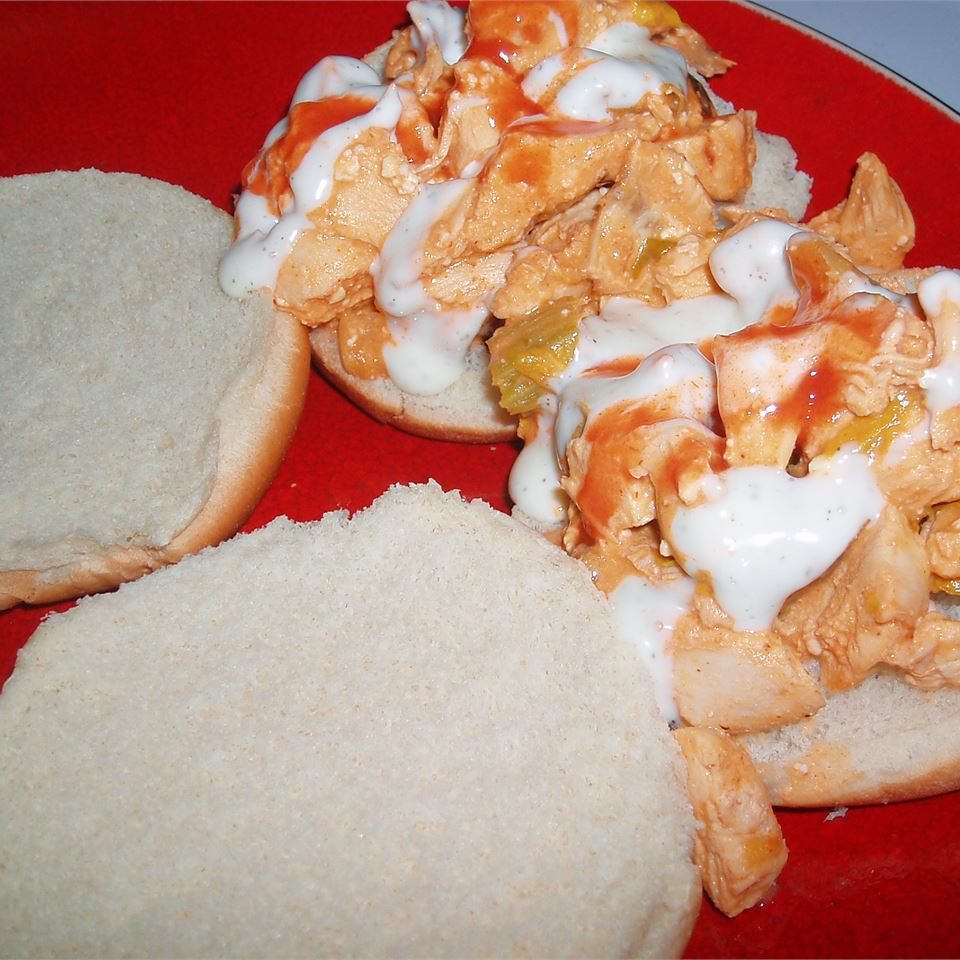 Buffalo Chicken Sliders Abbey