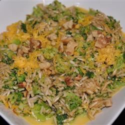 Brown Rice, Broccoli, Cheese and Walnut Surprise LaurenMV