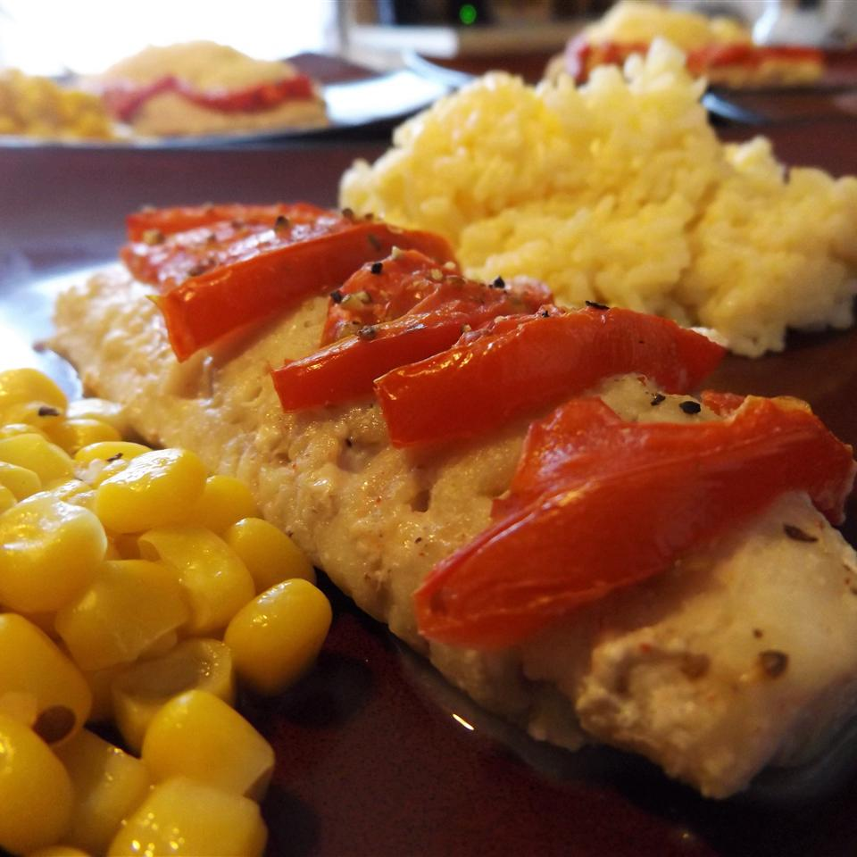 Baked Whiting