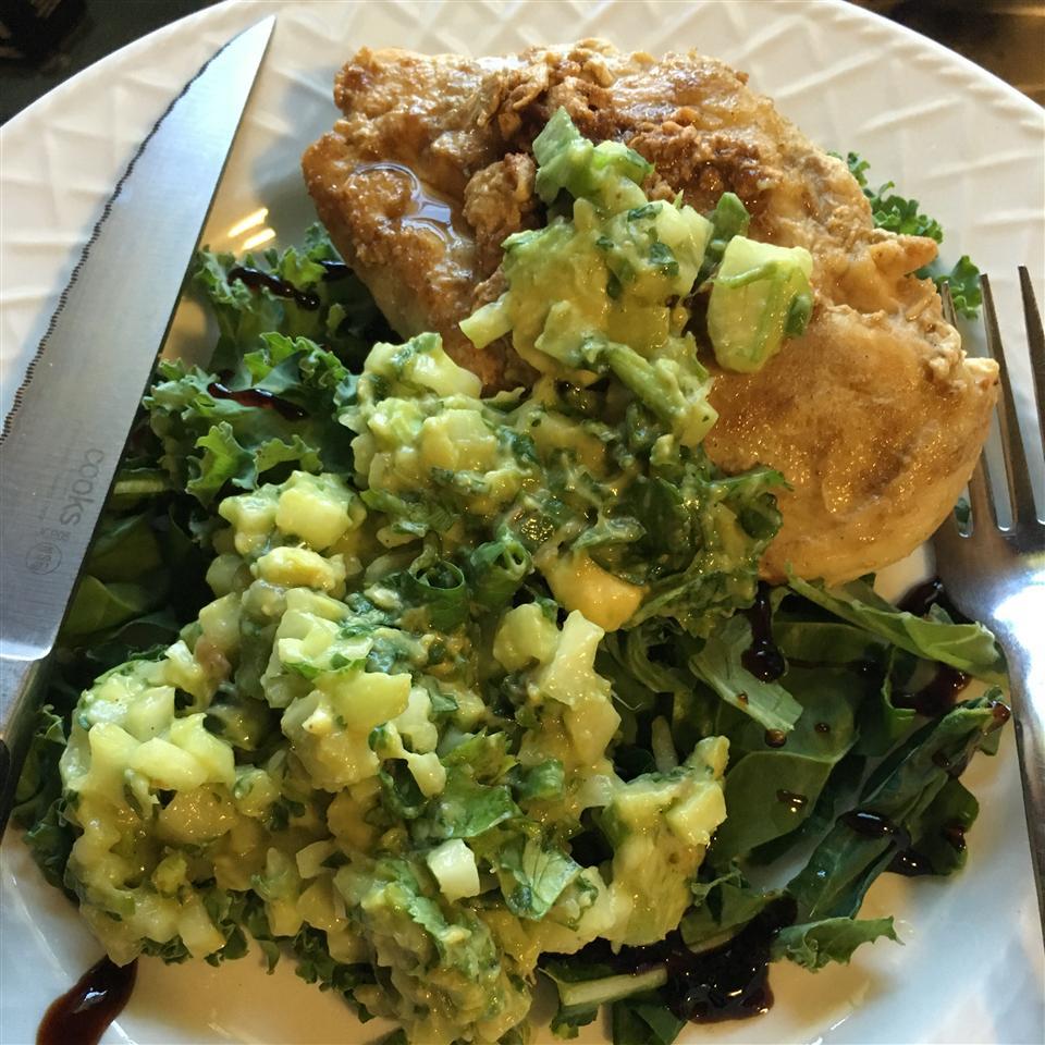 Cumin Rubbed Chicken with Avocado Salsa Cera Wilkins