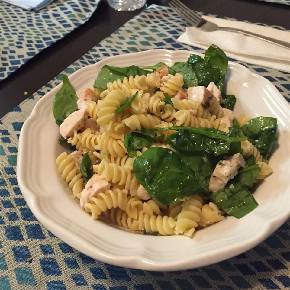 Lemon Basil Pasta Salad Kait1211