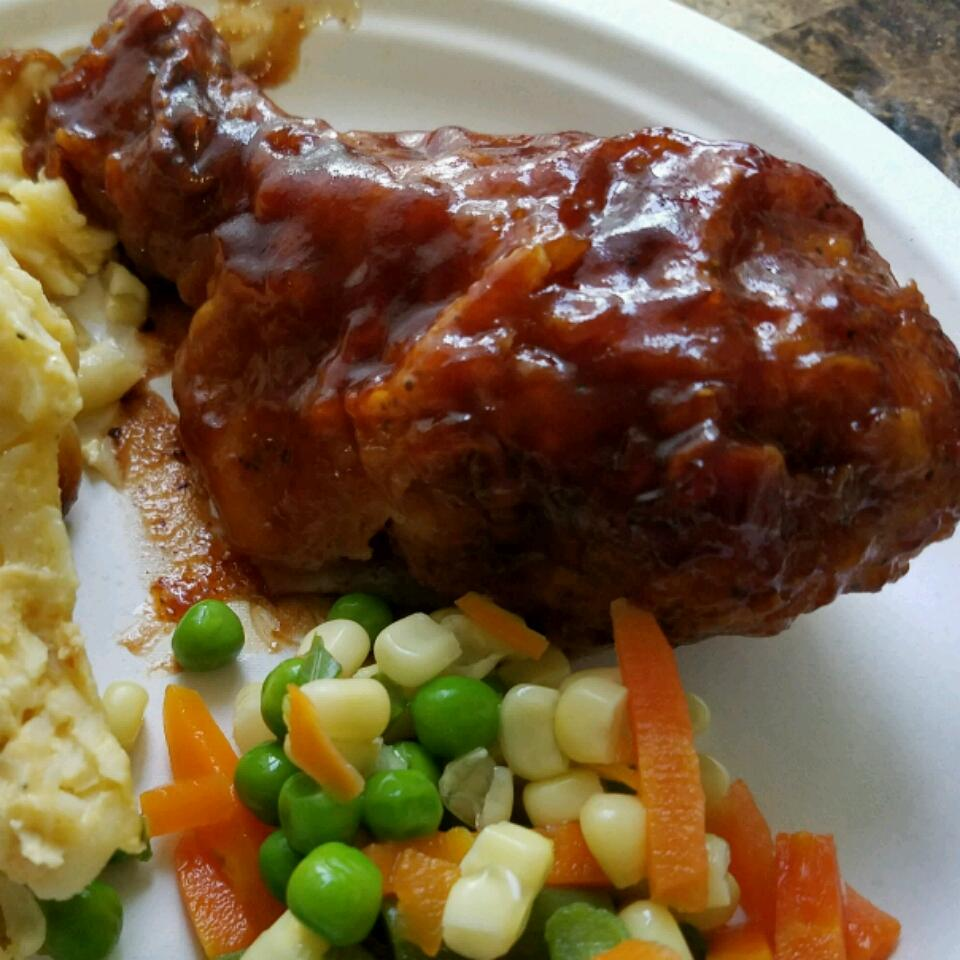 Baked BBQ Fried Chicken Lorraine Ross