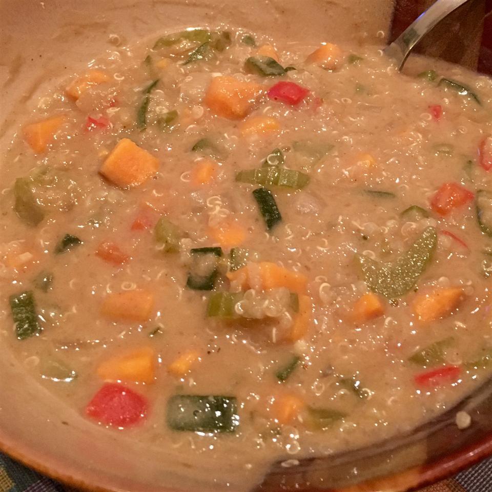 African Quinoa Soup Bryan