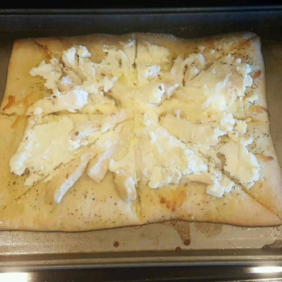 Chicken Garlic Pizza