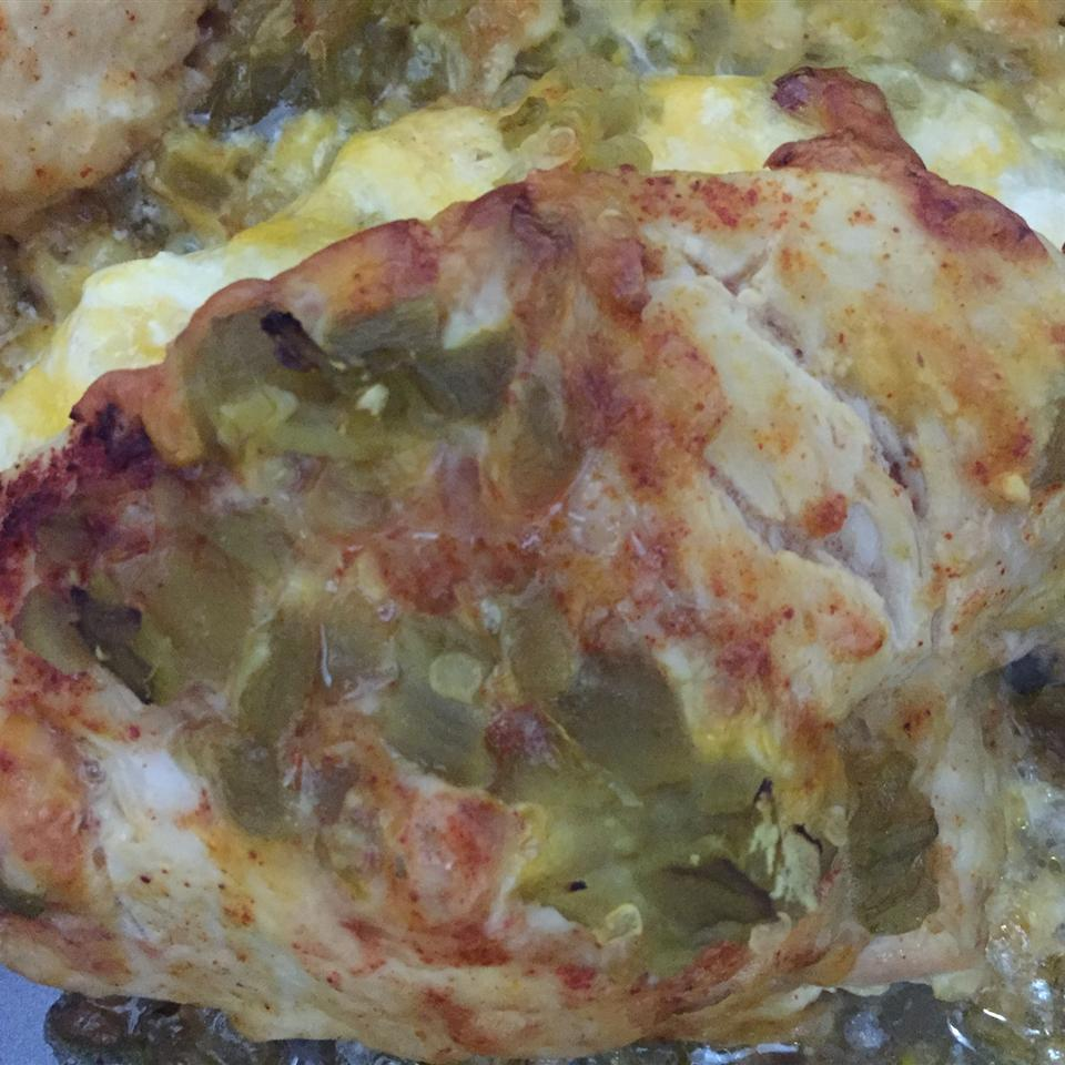 Green Chili and Cheese Chicken Gerry