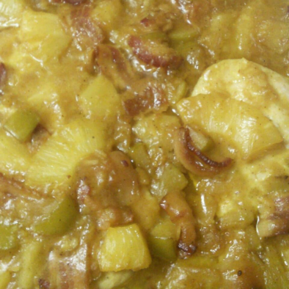 Pineapple and Chicken Curry Micah Shennum