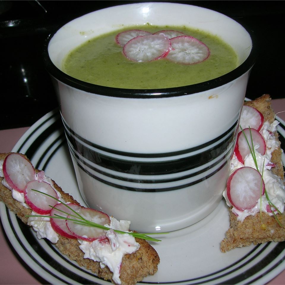 Radish Top Soup unix_girl